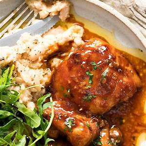 sticky-baked-chicken-thighs-recipetin-eats image