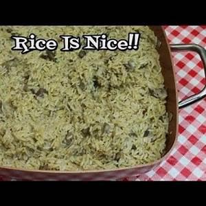 fresh-mushroom-and-rice-pilaf-youtube image