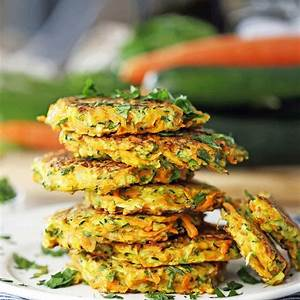 easy-zucchini-carrot-pancakes-yay-for-food image
