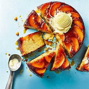 peach-upside-down-cake-with-bourbon-caramel image