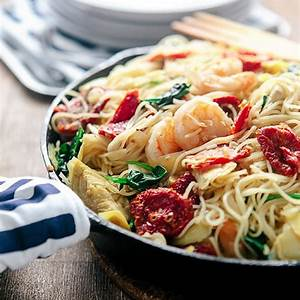 sun-dried-tomato-pasta-with-shrimp-some-the-wiser image