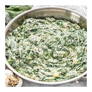 classic-creamed-spinach-thestayathomechefcom image