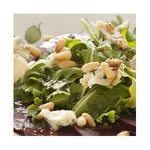 beet-arugula-salad-with-balsamic-dressing-safeway image