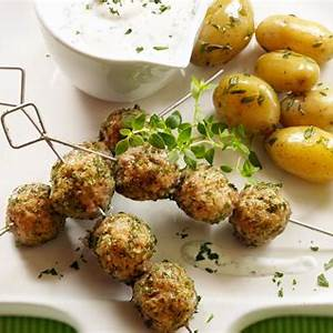 lamb-meatballs-with-tzatziki-sauce image