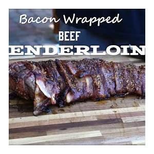 bacon-wrapped-tenderloin-on-the-traeger-delicious image