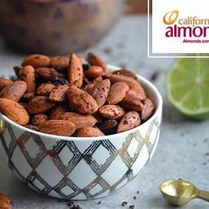 chili-lime-roasted-almonds-food-nutrition-magazine image