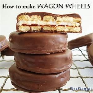 how-to-make-homemade-wagon-wheels-pinterest image