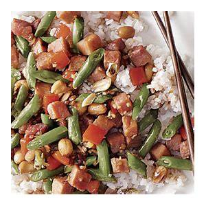indonesian-style-ham-stir-fry-recipe-finecooking image