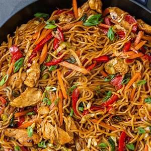 simple-yakisoba-noodles-recipe-momsdish image