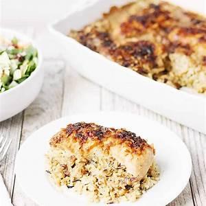 one-pan-no-peek-chicken-rice-half-scratched image