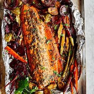 baked-honey-lemon-steelhead-trout-craving-tasty image