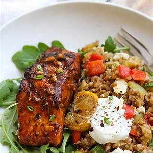 mediterranean-salmon-bulgur-bowls-dishing-out image