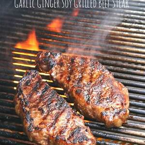 garlic-ginger-soy-grilled-beef-steak-simple-marinated image
