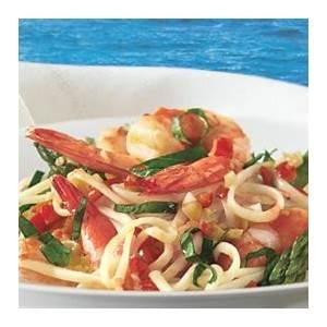 linguine-with-shrimp-asparagus-and-basil-recipe-bon image