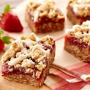 strawberry-rhubarb-dessert-bars-recipe-land-olakes image