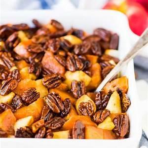 glazed-sweet-potatoes-with-honey-and-pecans-wellplatedcom image