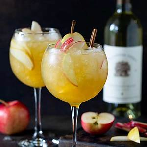 the-best-apple-cider-sangria-easy-fall-cocktail image