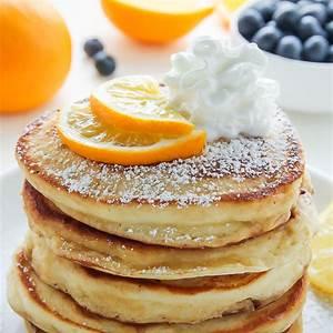 lemon-ricotta-pancakes-baker-by-nature image