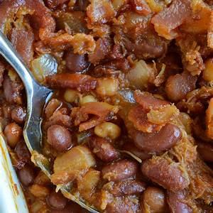 double-pork-baked-beans-recipe-wonkywonderful image