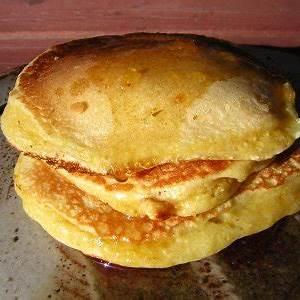lauras-cornmeal-sourdough-pancakes-tasty-kitchen-a image