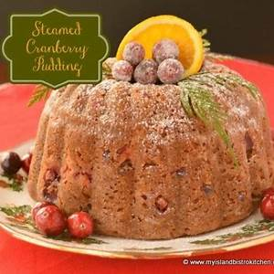 steamed-cranberry-pudding-with-eggnog-sauce-my image