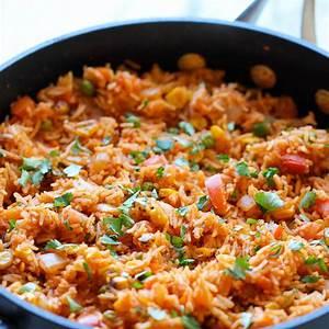mexican-rice-damn-delicious image