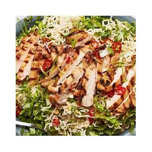 garlicky-instant-ramen-noodle-salad-with-grilled-chicken image
