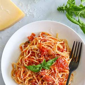 pasta-pomodoro-recipe-simply-home-cooked image