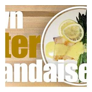 easy-brown-butter-hollandaise-sauce-recipe-youtube image