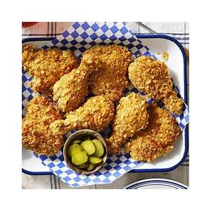 best-cornflake-crusted-baked-chicken-how-to-make image