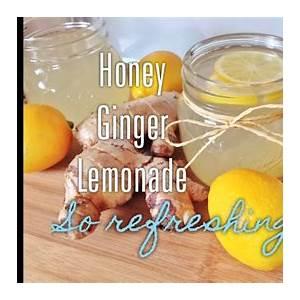 healthy-easy-honey-ginger-lemonade image