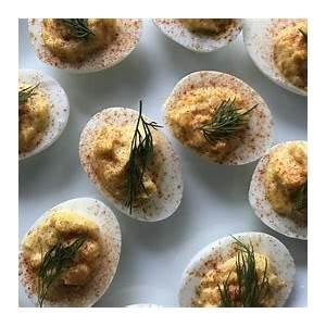classic-deviled-eggs-recipe-rachael-ray-show image