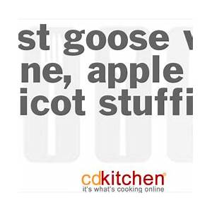 roast-goose-with-prune-apple-and-apricot-stuffing image
