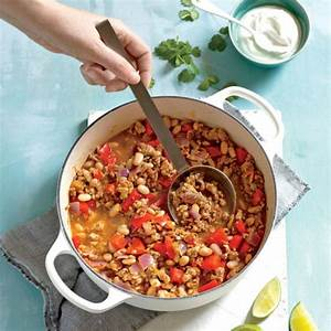 turkey-and-white-bean-chili-healthy-recipes-ww-canada image
