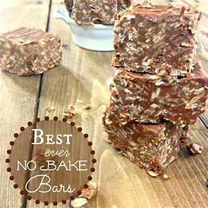 best-no-bake-bars-chocolate-peanut-butter image