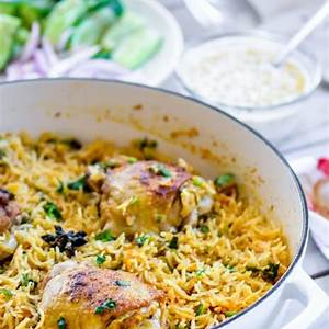 one-pot-curry-chicken-and-rice-recipe-chefdehomecom image