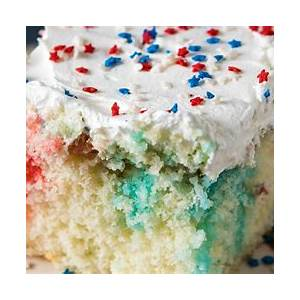 red-white-and-blue-poke-cake-with-sprinkles image