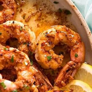 crispy-grilled-shrimp-prawns-with-lemon-garlic-butter image