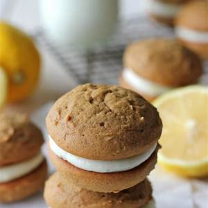 gingerbread-whoopie-pies-damn-delicious image