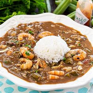 seafood-and-okra-gumbo-spicy-southern-kitchen image