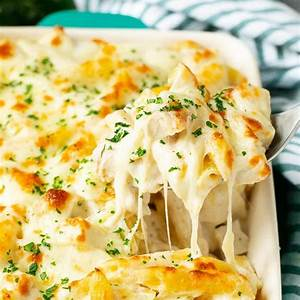 chicken-alfredo-bake-dinner-at-the-zoo image