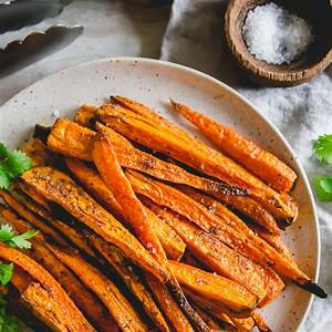 air-fryer-carrots-easy-crispy-roasted-carrots-in-the-air image