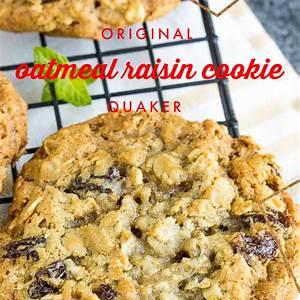 original-quaker-oatmeal-raisin-cookie image