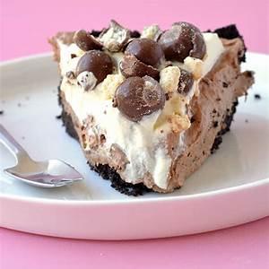 chocolate-malt-mousse-pie-no-bake-sweetest-menu image