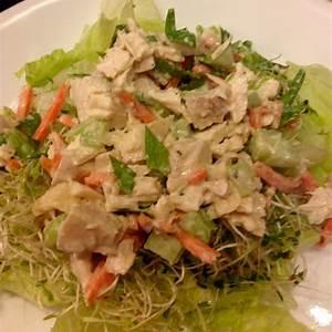 tarragon-chicken-salad-lettuce-wraps-recipe-sparkrecipes image