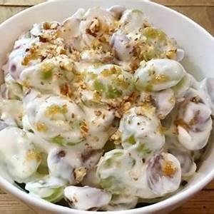 the-best-creamy-grape-salad-montana-happy image