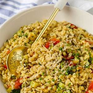 zucchini-orzo-recipe-so-fresh-colorful image