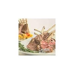 dijon-rosemary-glazed-racks-of-lamb-canadian-living image