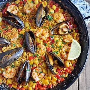 authentic-spanish-seafood-paella-recipe-spain-on-a-fork image