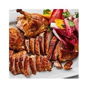 crisp-roast-duck-recipe-recipe-epicurious image